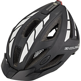 Endura Luminite Kask rowerowy, black/reflective